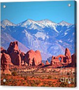 Beneath Blue Skies Acrylic Print