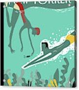 Beneath The Waves Acrylic Print