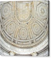Beneath This Marble Ceiling Acrylic Print