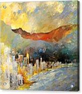 Benidorm 01 Acrylic Print