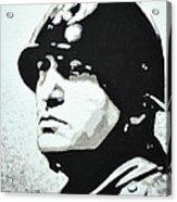 Benito Mussolini Acrylic Print