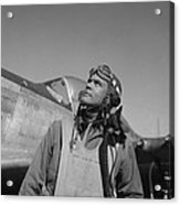 Benjamin Davis - Ww2 Tuskegee Airmen Acrylic Print