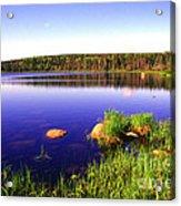 Benjies Lake Cape Breton Island Acrylic Print