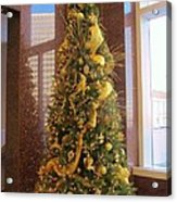 Benson Towers - Fleur De Lis Tree - New Orleans La Acrylic Print