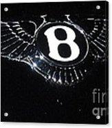 Bentley Logo Hood Ornament #  2 Acrylic Print