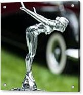 Bentley Hood Ornament Acrylic Print