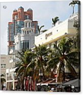 Bentley Hotel Miami Acrylic Print