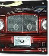 Bentley Acrylic Print