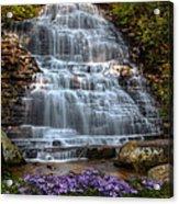 Benton Falls In Spring Acrylic Print