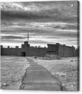 Bents Old Fort - Bw Acrylic Print