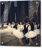 Beraud, Jean 1849-1935. Backstage Acrylic Print