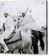 Berber Horsemen Acrylic Print