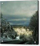 Berkshire Winter 2 Acrylic Print