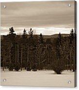 Berkshires Winter 1 - Massachusetts Acrylic Print