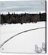 Berkshires Winter 2 - Massachusetts Acrylic Print