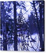 Berkshires Winter 8 - Massachusetts Acrylic Print