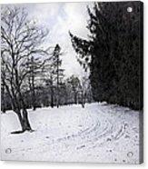Berkshires Winter 9 - Massachusetts Acrylic Print