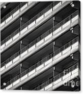 Berlin Balconies Acrylic Print