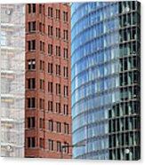 Berlin Buildings Detail Acrylic Print by Matthias Hauser