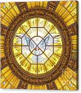 Berlin Cathedral Ceiling Acrylic Print
