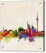 Berlin City Skyline Acrylic Print