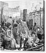 Berlin Fish Market, 1874 Acrylic Print