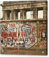Berlin Wall Acrylic Print