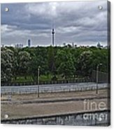 Berlin Wall No Man's Land Acrylic Print