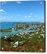 Bermuda From Gibbs Hill Lighthouse Acrylic Print
