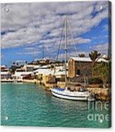 Bermuda St George Harbour Acrylic Print by Charline Xia
