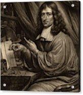 Bernard Vaillant Flemish, 1632 - 1698, Cornelis Mayer Acrylic Print
