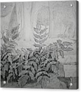 Bernheim Forest Plant Acrylic Print