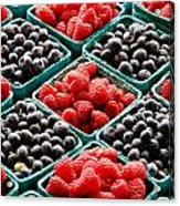 Berry Berry Nice Acrylic Print by Peter Tellone