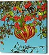 Berry Christmas Acrylic Print