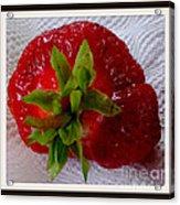 Berry Yummy Acrylic Print