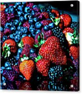 Berrylicious Acrylic Print