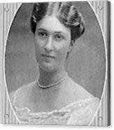 Bertha Krupp  Daughter Of Friedrich Acrylic Print