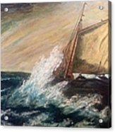 Berts Boat Acrylic Print