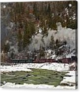 Beside The Animas River Acrylic Print
