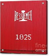 Bessemer Train Acrylic Print