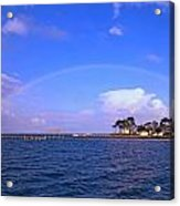 Best Complete Rainbow Over Santa Rosa Sound2 Acrylic Print