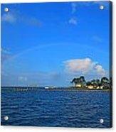 Best Complete Rainbow Over Santa Rosa Sound3 Acrylic Print