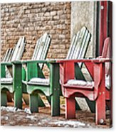 Best Seats In Town Acrylic Print