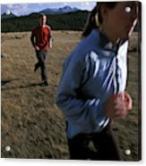 Beth Rodden And Tommy Caldwell Get Acrylic Print