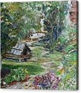Bethania Garden Acrylic Print
