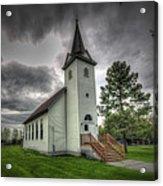 Bethany Prairie Church Acrylic Print