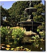 Bethesda Fountain - Central Park 2 Acrylic Print