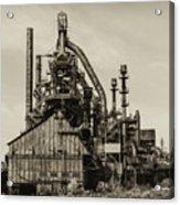 Bethlehem Pa Steel Plant   Acrylic Print