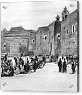 Bethlehem Painting 1928 Acrylic Print by Munir Alawi