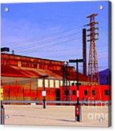 Bethlehem Steel Buildings Acrylic Print